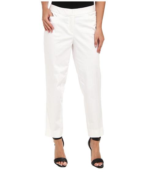Pantaloni Jones New York - Crop Trouser - White