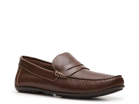 Pantofi Sandro Moscoloni - Ridge Loafer - Brown