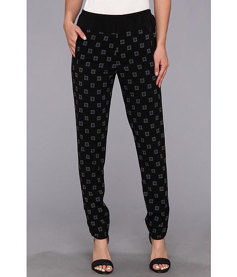 Pantaloni BCBGMAXAZRIA - Wesley Woven Sportswear Pant - Black Combo