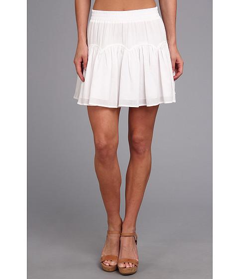 Fuste BCBGMAXAZRIA - Lourdes Woven Sportswear Skirt - White
