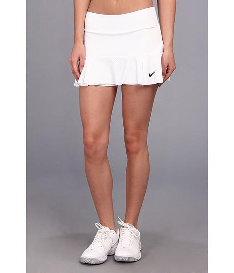 Fuste Nike - Flirty Knit Skirt - White/Black