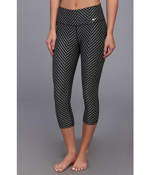 Pantaloni Nike - Legend 2.0 Zig Zag Capri - Dark Base Grey/Black/White