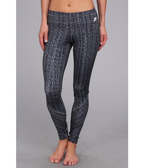 Pantaloni Nike - RU Sunset Print Legging - Anthracite/Dark Grey/Cool Grey