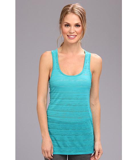 "Bluze Nike - Dri-Fitâ""¢ Touch Breeze Stripe Tank Top - Turbo Green/Reflective Silver"