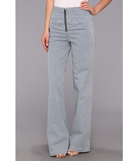 Pantaloni Nanette Lepore - Traveler Trouser - Indigo/White