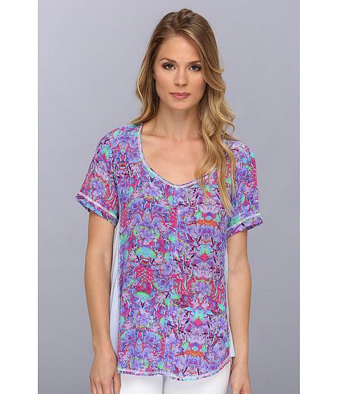 Bluze Nanette Lepore - Bongo Top - Lilac Multi
