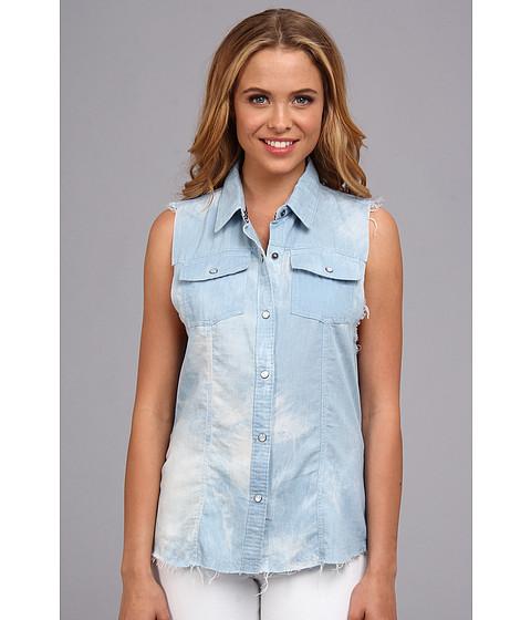 Camasi Roxy - Cut Loose Sleeveless Shirt (Juniors) - Indigo