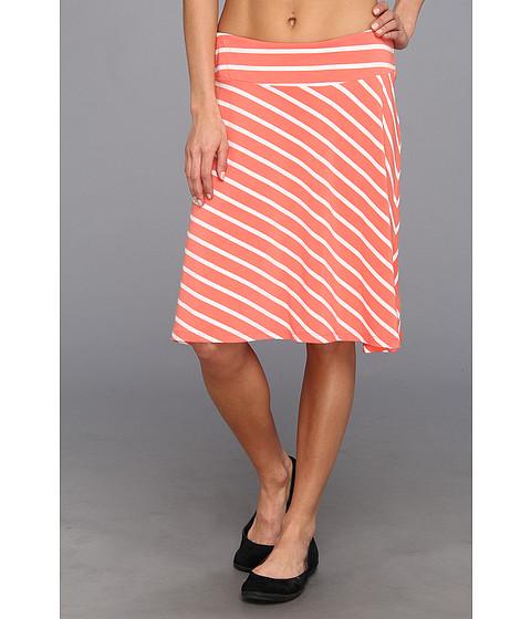 "Fuste Columbia - Reel Beautyâ""¢ II Skirt - Hot Coral/White Stripe"