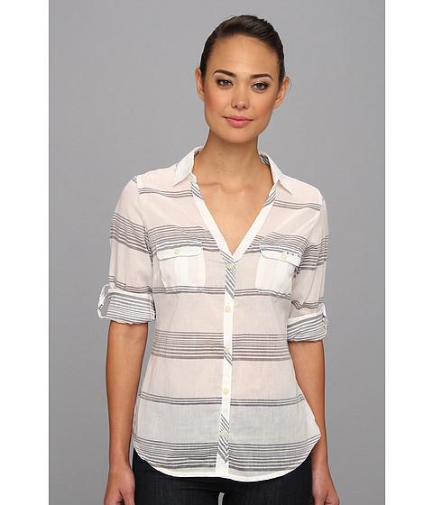 "Camasi Columbia - Sun Drifterâ""¢ L/S Shirt - Collegiate Navy Stripe"