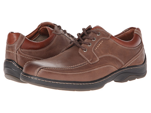 Pantofi Johnston & Murphy - Fairfield Runoff Lace-Up - Taupe Waterproof Oiled Nubuck