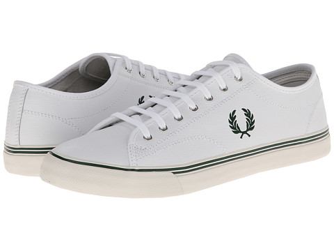 Adidasi Fred Perry - Kendrick Leather - White/Ivy