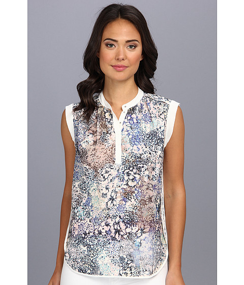 Bluze Rebecca Taylor - Feathered Meadow Top - Periwinkle