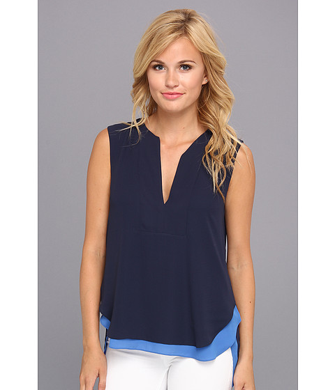 Bluze BCBGMAXAZRIA - Jamysen Woven Sportswear Top - Dark Ink Combo