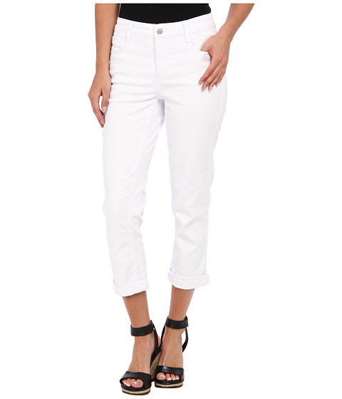Pantaloni Jones New York - JNYJ City Cuff Capri - White