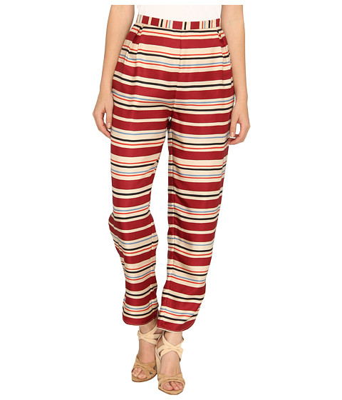 Pantaloni Chloe - Loose Fit Pants - Burgundy