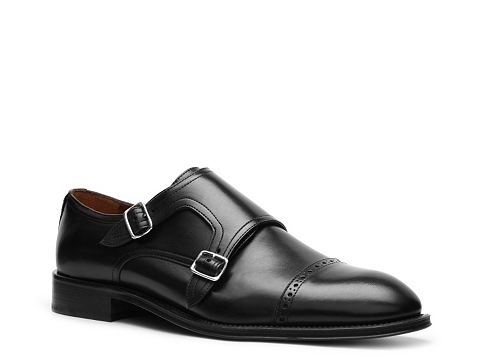 Pantofi Mercanti Fiorentini - Double Monk Slip-On - Black