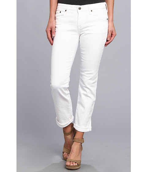 Blugi Big Star - Kate Midrise Straight Crop in Clean White - Clean White