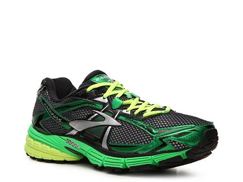 Pantofi Brooks - Ravenna 4 Performance Running Shoe - Mens - Green/Silver/Yellow