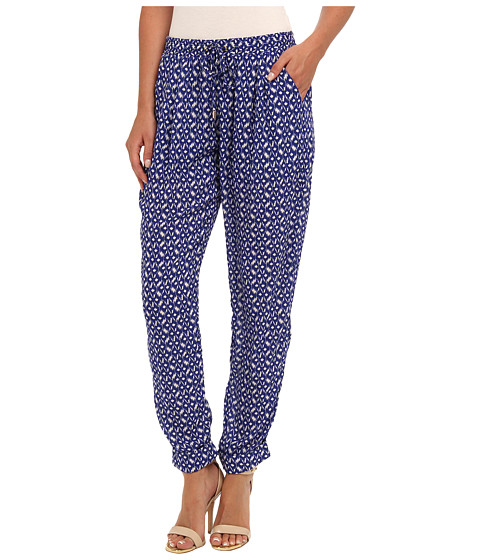 Pantaloni Gabriella Rocha - On the Prowl Jogger Pant - Royal/White