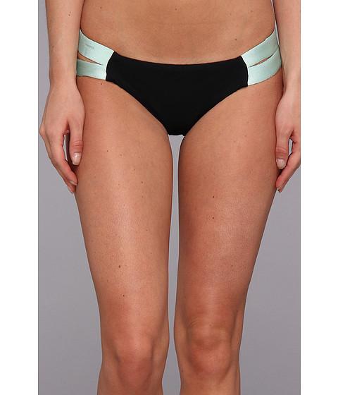 Costume de baie Hurley - Good Sport Strap Side Bottom - Mint/Black