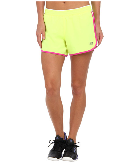Pantaloni The North Face - Reflex Core Short - Dayglo Yellow/TNF White/Azalea Pink