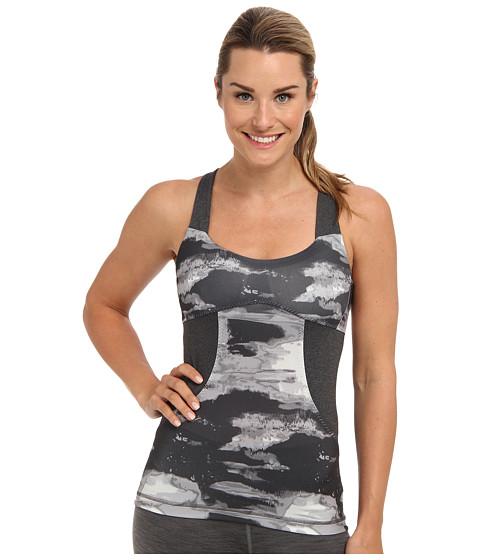 Bluze The North Face - Tadasana Sport Tank - Asphalt Grey Print/Charcoal Grey Heather