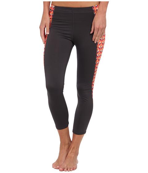 Pantaloni C&C California - Market Basket Print Color Block Exceed 21 Capri - Castlerock
