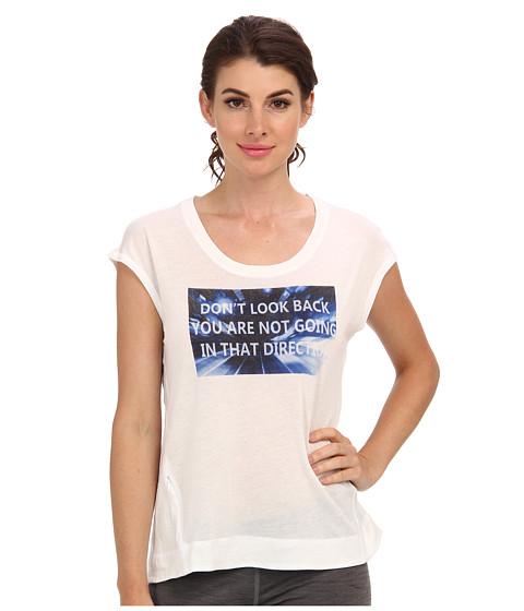 "Bluze C&C California - \""Don\ Look Back\"" Wedge Tee - Bright White"