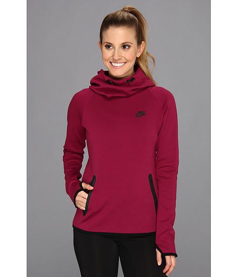 Bluze Nike - Tech Fleece Hoodie - Raspberry Red/Black/Black
