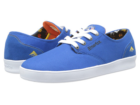 Adidasi Emerica - The Romero Laced X Bro Style - Blue/White