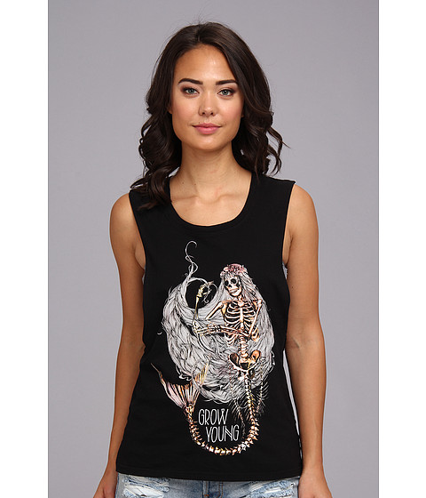Bluze Element - Mermaid Tank Top - Black