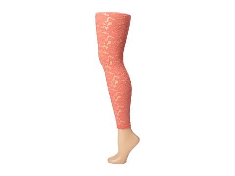 Pantaloni Betsey Johnson - Girly Lace Legging - Peach
