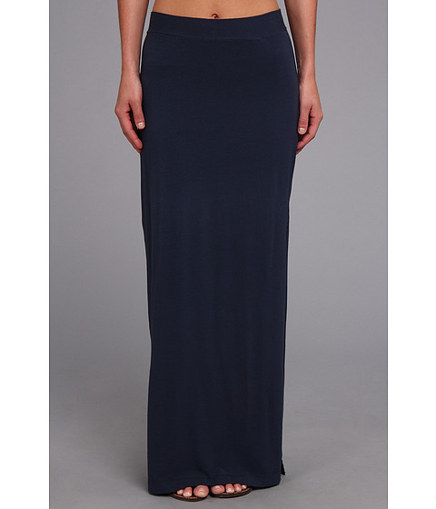Fuste Splendid - Column Maxi Skirt - Navy