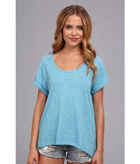 Bluze Alternative Apparel - Pop Slub Mulholland Top - Carousel Blue