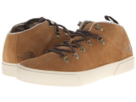 Adidasi The North Face - Buckley Leather Chukka - Utility Brown/Demitasse Brown