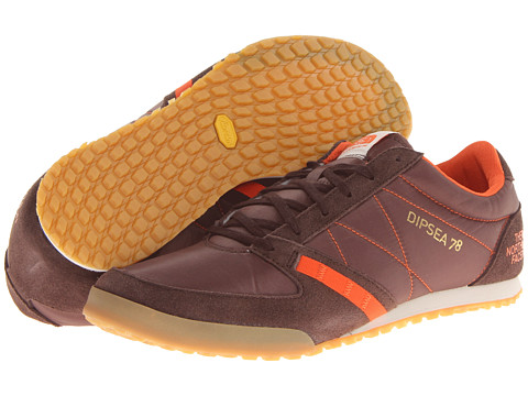 Adidasi The North Face - Dipsea 78 Racer - Demitasse Brown/Red Orange