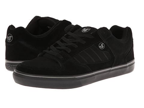 Adidasi DVS Shoe Company - Militia CT - Black/Black Suede