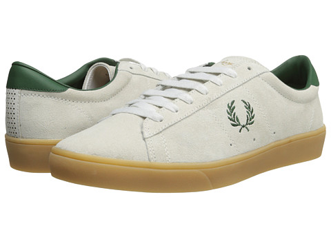 Adidasi Fred Perry - Spencer Suede - Porcelain/Tartan Green