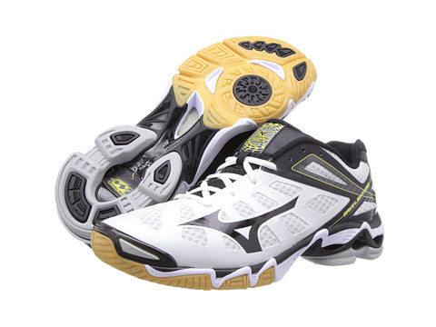 "Adidasi Mizuno - Wave Lightningâ""¢ RX3 - White/Black"
