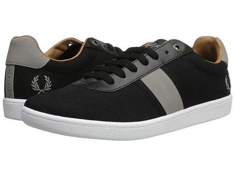 Adidasi Fred Perry - Sebright Canvas - Black/Cloudburst