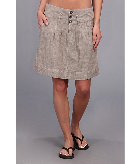 Fuste Royal Robbins - Chambray Summertime Skirt - Taupe