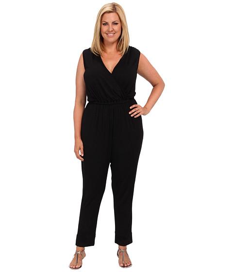 Pantaloni Rachel Pally - Plus Size Holmes Jumpsuit White Label - Black