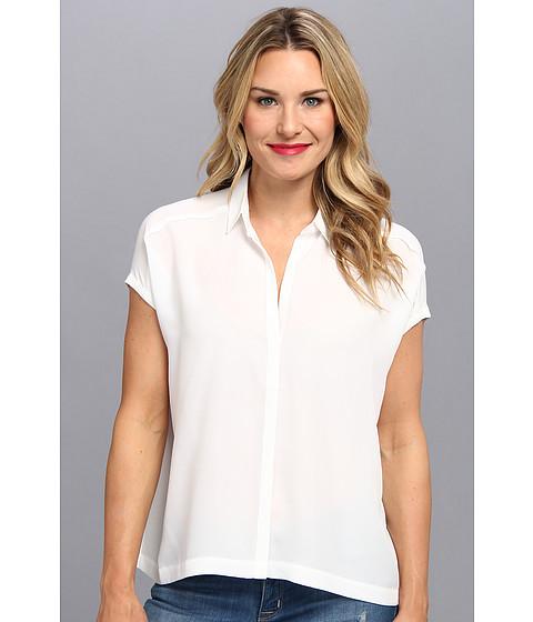 Bluze NIC+ZOE - Carnaval Camp Shirt - Paper White