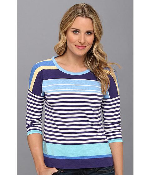 Bluze Tommy Bahama - Buff Bay Stripe Tee - Blue Ribbon
