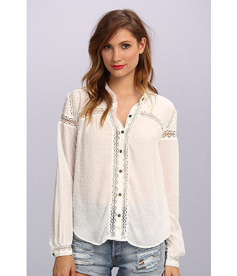 Bluze Free People - Every Day Top - Ivory