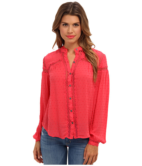 Bluze Free People - Every Day Top - Strawberry