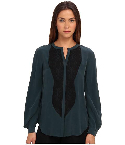 Bluze Rachel Roy - Panel Blouse - Deep Moss