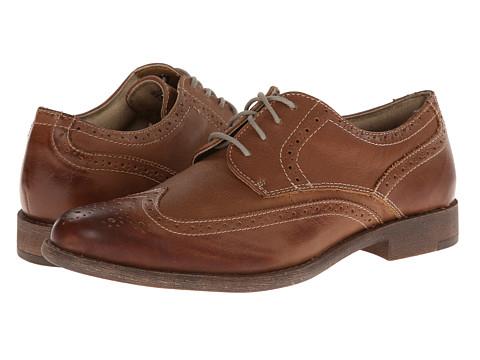Pantofi Dockers - Flagler - Tan Distressed Burnishable Full Grain