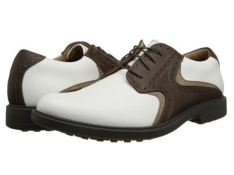 Pantofi Dockers - Formby - White/Brown Saddle