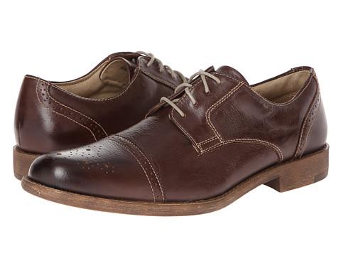 Pantofi Dockers - Harkness - Brown Distressed Burnishable Full Grain